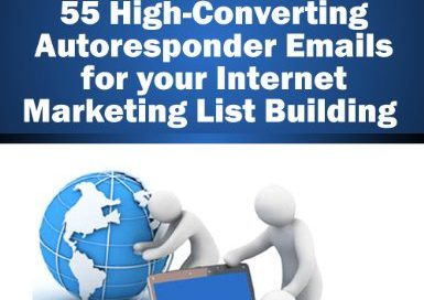 Email PLR – 55 Autoresponder Emails for your Internet Marketing List Building