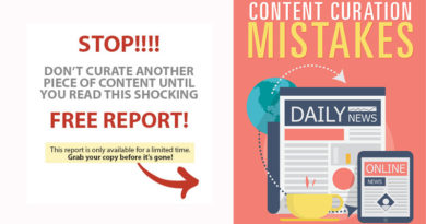 FREE REPORT: Content Curation Mistakes Hurting Your SEO